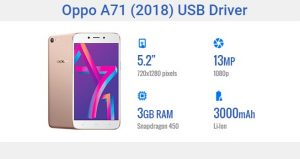 Oppo A71 USB Driver – 2018 Version