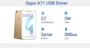 Oppo A71 USB Driver