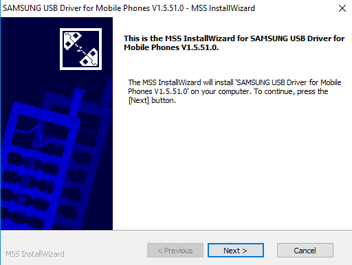 Phoneusbdriver samsung driver installation instruction