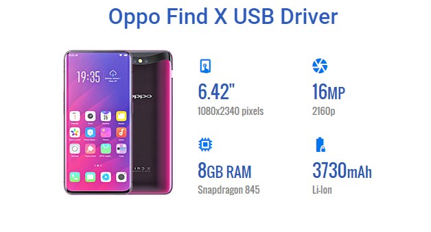 Oppo Find X USB Driver