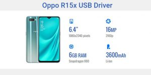 Oppo R15x USB Driver